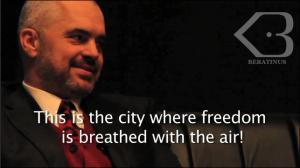 Edi Rama-freedom 2
