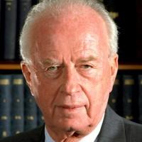 A la mémoire d'Yitzhak Rabin (1922 – 1995).