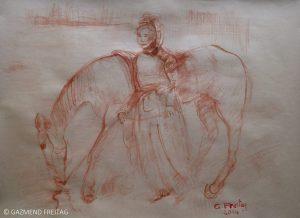Shqiptarja me kalë